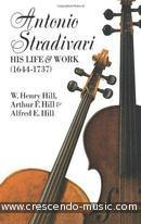 Antonio Stradivari : his life and work. Hill