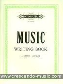Music writing book (12 staves).