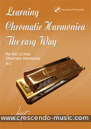 Learning chromatic harmonica - The easy way. de Leeuw, Jan