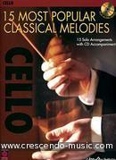 15 Most popular classical melodies - Cello. Album