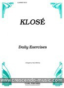 Daily exercices. Klosé, Hyacinthe