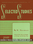 Selected studies for clarinet. Voxman, Howard
