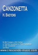 View a sample page! Canzonetta - Baeyens, H.