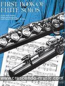 First book of flute solos. Album