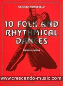 10 Folk and rhythmical dances. Hengeveld, Gerard
