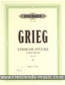 Lyric pieces - Vol.2, Op.38. Grieg, Edvard