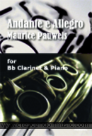 View a sample page! Andante e allegro - Pauwels, Maurice