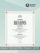 Quintet in b minor, Op.115. Brahms, Johannes