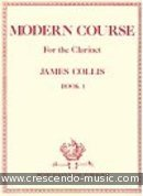Modern course for the clarinet - 1. Collis, James