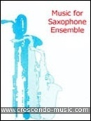 A very first saxophone quartet book. Cowles, Colin