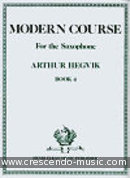 Modern Course for the Saxophone - Vol.5. Hegvik, Arthur
