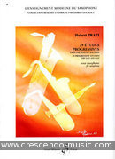 29 Etudes progressives. Prati, Hubert