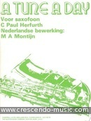 A tune a day voor saxofoon (nederlands). Herfurth, Paul