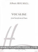 Vocalise. Roussel, Albert
