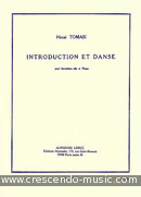 Introduction et danse. Tomasi, Henri