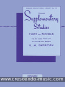 Supplementary studies for flute. Endresen, R.M.