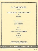Exercices journaliers. Gariboldi, Giuseppe