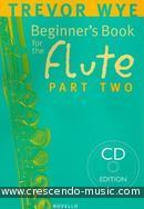 A beginner's book for the flute - Book 2. Wye, Trevor