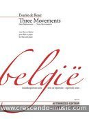 View a sample page! 3 Movements - De Roye, Evarist