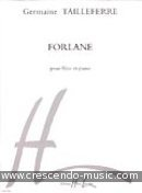 Forlane. Tailleferre, Germaine