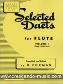 Selected duets for flute - 1. Album