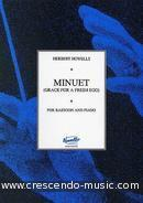 Minuet (Grace for a fresh egg). Howells, Herbert