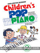 Children's pop piano - Vol.2. Heumann, Hans-Gunter