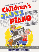 Children's blues piano. Heumann, Hans Gunter