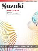Suzuki Piano School - Vol.2 (New international edition). Suzuki, Shinichi