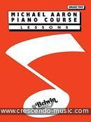 Piano Course - Lessons Grade 2. Aaron, Michael