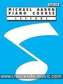 Piano course - Lessons grade 5. Aaron, Michael