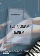 2 Spanish dances. Bakkers, Maria