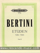 Etuden, Op.32 (PETERS). Bertini, Enrico