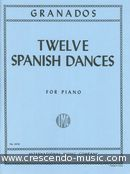 View a sample page! 12 Spanish dances - Granados, Enrique