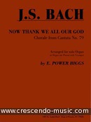 Now thank we all our God. Bach, Johann Sebastian