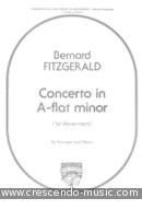 Concerto in A-flat minor (1st Movement). Fitzgerald, Bernard
