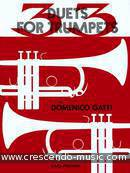Duets for trumpets. Gatti, Domenico