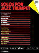 Solos for jazz trumpet. Album