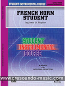 French Horn Student - Vol.3. Ployhar, James