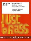 Just Brass - Vol.13: Canzon a 4. Gabrieli, Giovanni