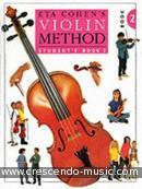 Violin Method - Vol.2. Cohen, Eta