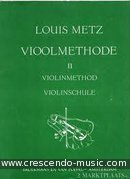 Vioolmethode - Vol.2. Metz, Louis