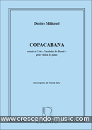 Saudades do Brazil - No.2 Copacabana. Milhaud, Darius