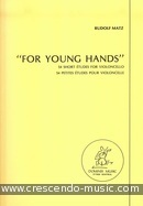 For Young Hands (54 Short etudes). Matz, Rudolf