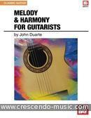 Melody and harmony for guitarists. Duarte, John W.