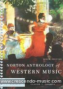 Norton Anthology of Western Music - Vol.1 (6th Edition). Palisca, Claude V.