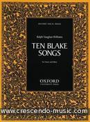 10 Blake songs. Vaughan Williams, Ralph
