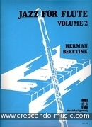 Jazz for flute - Vol.2. Beeftink, Herman