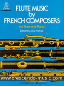 Flute music by french composers. Album