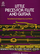 Little pieces for flute and guitar. Album